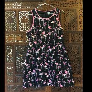 Crown & ivy flamingo dress Sz 12